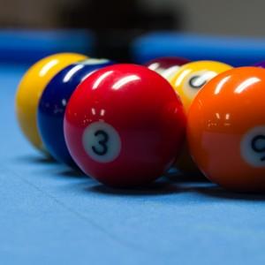 Eine Partie 9-Ball