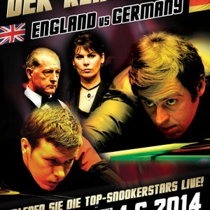 Snooker - England vs Germany