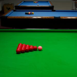 Snookertisch und Pooltische 1, 2 und 3